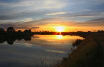 Вечер на реке