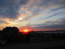 Закат над Казанью