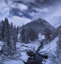 Зимняя Сказка Домбая
