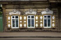 Иркутские улочки....Окна....