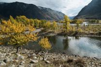 Осень на реке Чулышман
