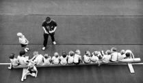 Юные гимнасты