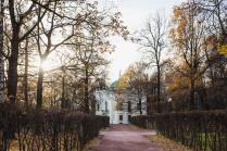 Осенний парк усадьбы Кусково