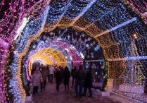 Новогодний тоннель