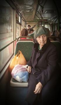 Зинаида Васильевна с покупками