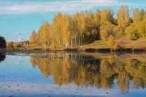 Осень в усадьбе Абрамцево