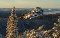 """Зимний вечер в заповеднике """"Столбы"""""""