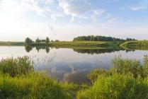 Самая русская река - Волга.