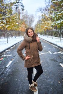 Зима в гостях у осени