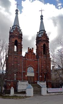 Польский костёл в Рыбинске