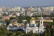 Ново-Тихвинский женский монастырь.