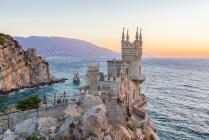 Замок на рассвете