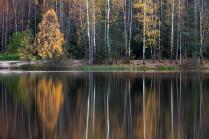 В озере тоже осень