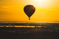Раннее утро в небе Великого Новгорода