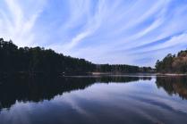 Небо над Кратовским озером