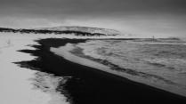 Один на берегу Камчатки