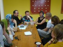 Молодежные встречи в Серафимовском храме
