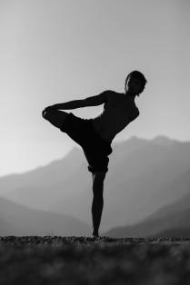 йога в горах