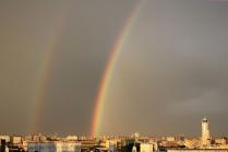 Из окна в центре Москвы