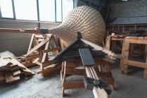 Реставрация церкви Преображения на о. Кижи