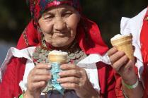 """Этнический фестиваль """"Крутушка"""" в Казани"""