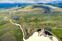 Озеро Гусиное и река Аргамджи