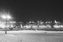 Зима в городе Й.