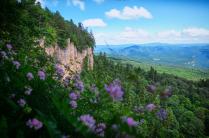Вид с Азишского перевала.