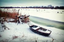 Зимний отдых. Река Мёртвый Донец.