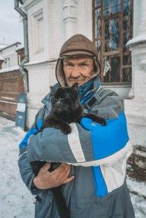 Кот Егор и его человек