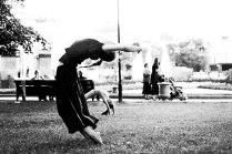 Танец счастья в Александровском саду