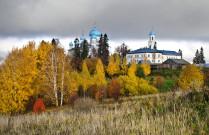Золотая осень в Костромской области