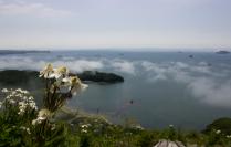 Вид с вершины горы Сестра