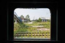 Одна из станций транссибирской железной дороги