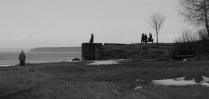 Начало весны на Рыбинском водохранилище