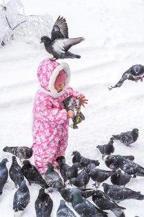 Любимица птиц