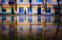 Зеркальные краски города