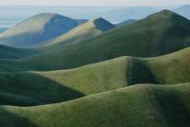 Бархатистые горы
