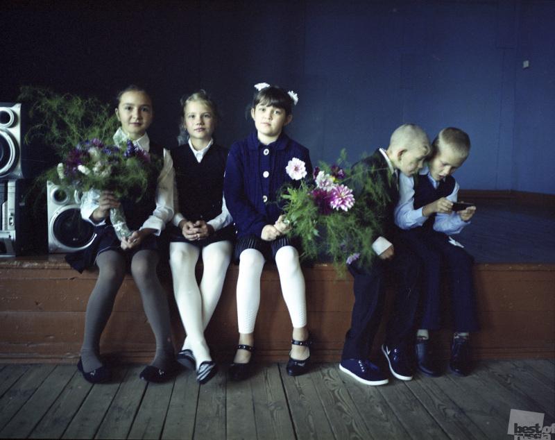 Первое сентября в сельской школе
