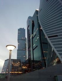 Москва-СИТИ. Деловая жизнь 24 часа.