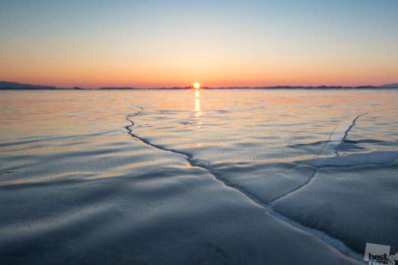 Ледяной закат