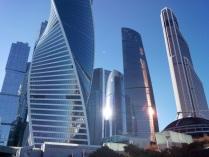Москва-СИТИ. Притяжение Солнца, притяжение Умов...