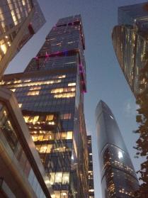 Москва-СИТИ. Вечное стремление в Небо.