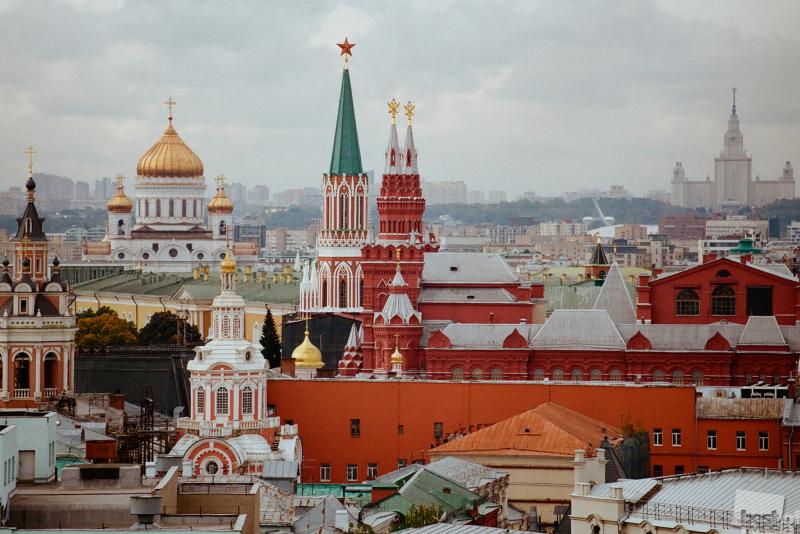 Москва в классическом цвете