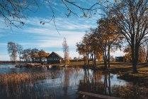 Осень в Кижах