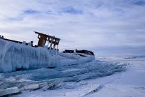 Frozen Boat, Frozen Baikal