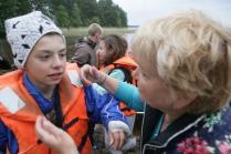 14 детей погибли в результате шторма на Сямозере в Карелии