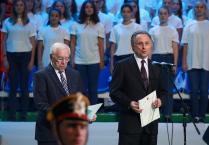 Церемония открытия Всероссийских соревнований среди паралимпийцев в Подмосковье