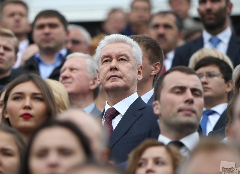 Церемония открытия Дня города на Красной площади
