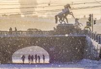 Зима в Санкт-Петербурге